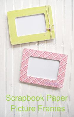scrapbook-paper-frame