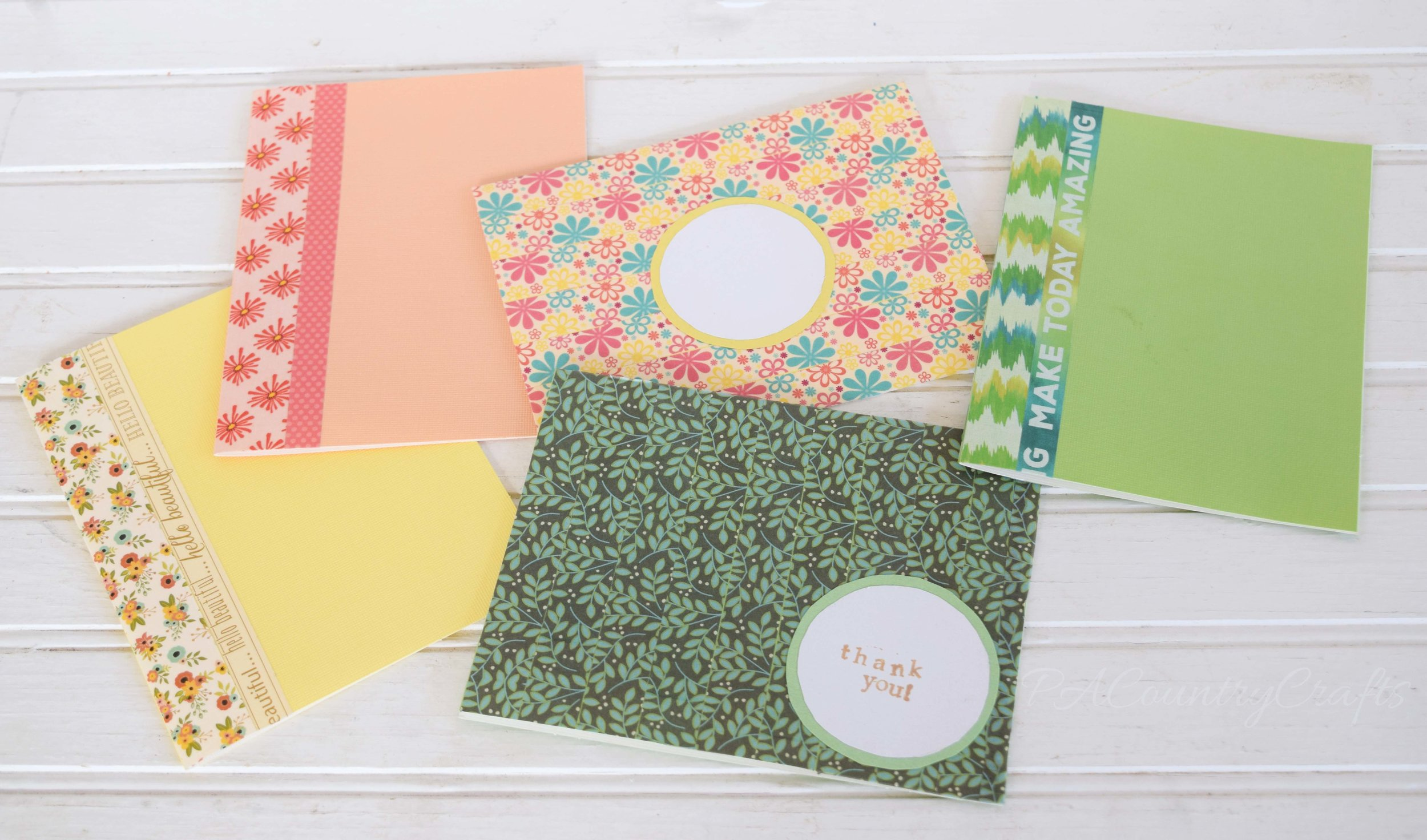 Simple washi tape cards- so easy and fun!