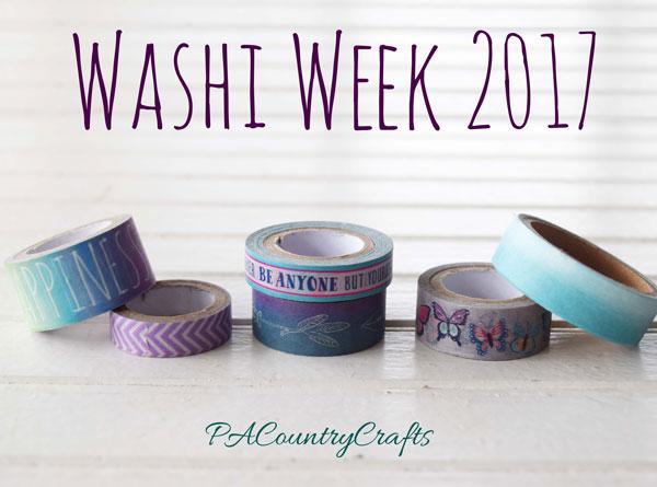 Washi Week 2017