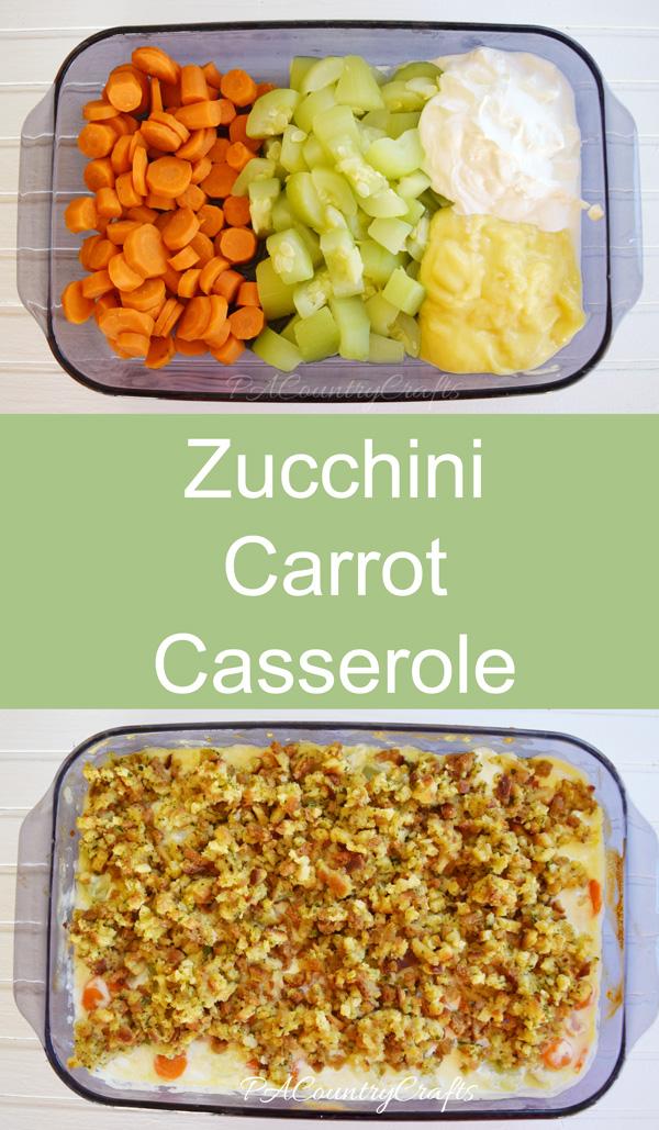 Zucchini Carrot Casserole Recipe