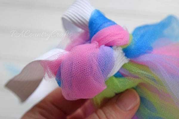 Easy Tulle Unicorn Tail