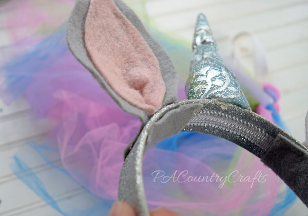 how to make a unicorn headband