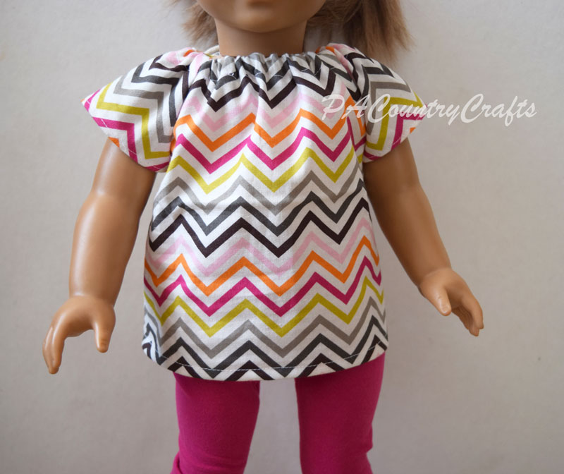 "18"" doll peasant top free sewing pattern"