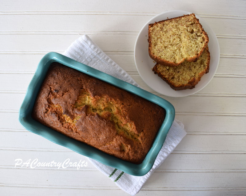Banana bread recipe- so easy to make!