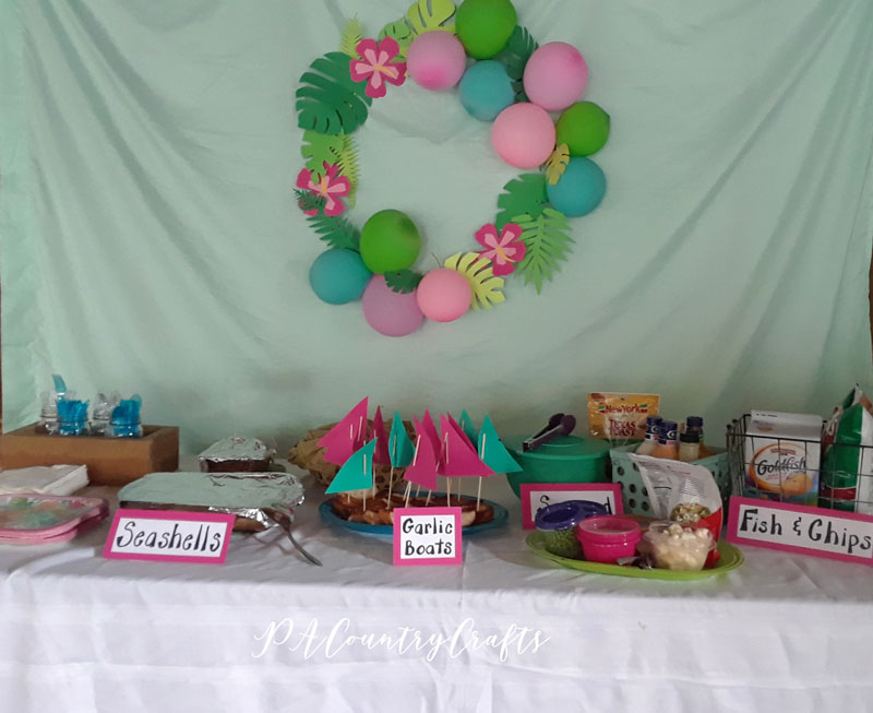 Fun, beach themed party food ideas!