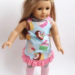 Doll Ruffle Apron