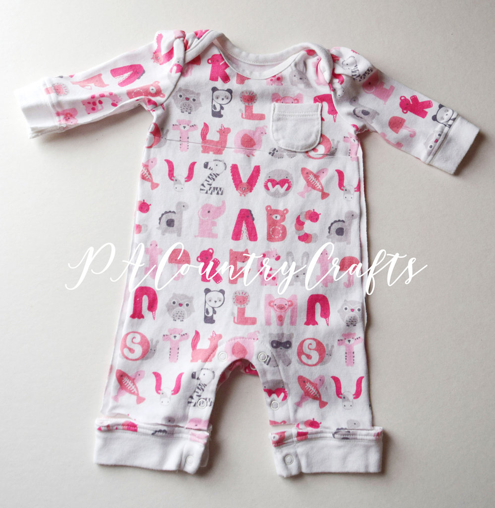 Use outgrown baby clothes to make a memory bear