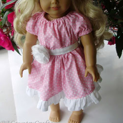 Boutique Peasant Doll Dress