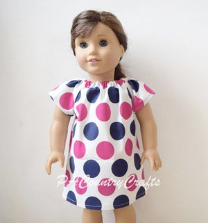 Doll Peasant Dress