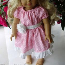 Boutique Doll Dress