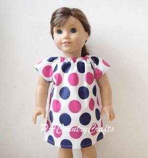 Doll Peasant Dress Pattern