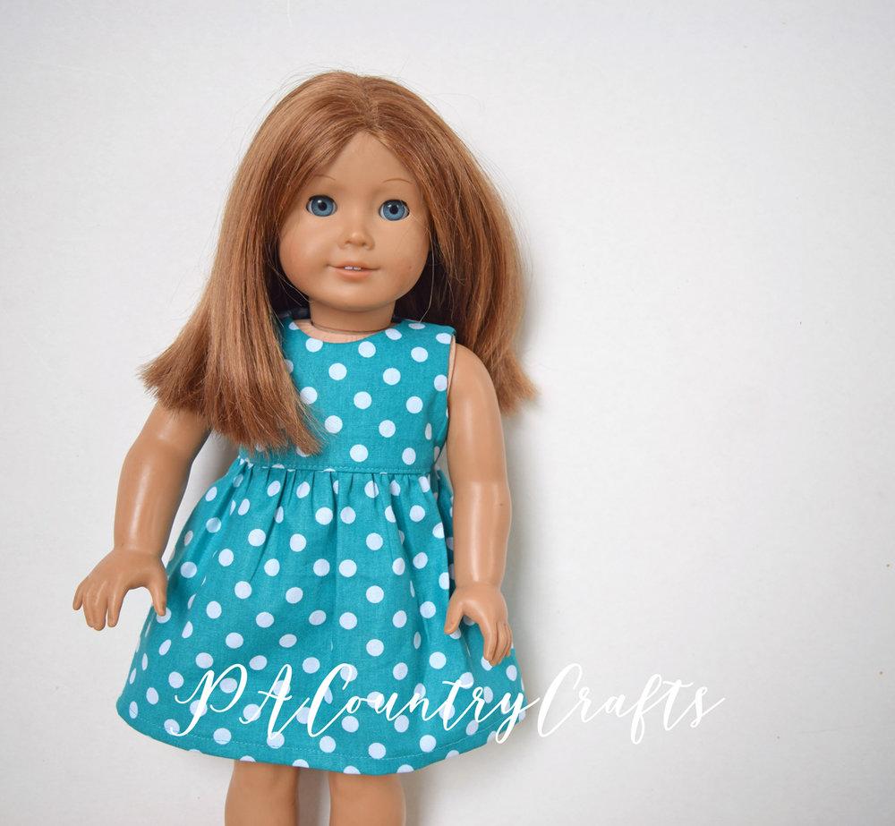 Basic Doll Dress Pattern