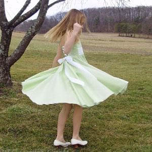 Twirly Lace Dress
