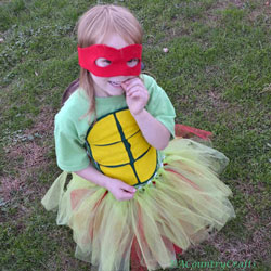 Girls' Ninja Turtle Tutus