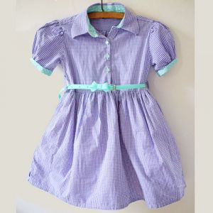 Men's Shirt to Girls' Dress