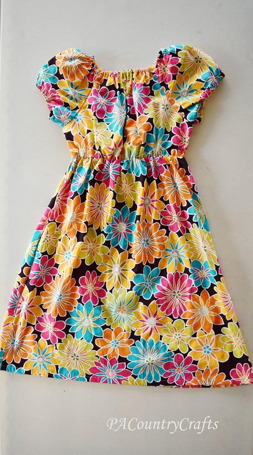 Teen Peasant Dress