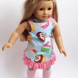 Doll Ruffle Apron Pattern