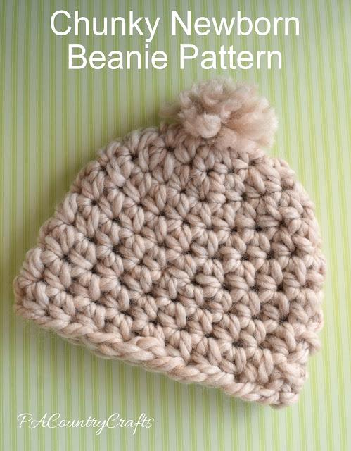 Chunky Newborn Beanie Pattern