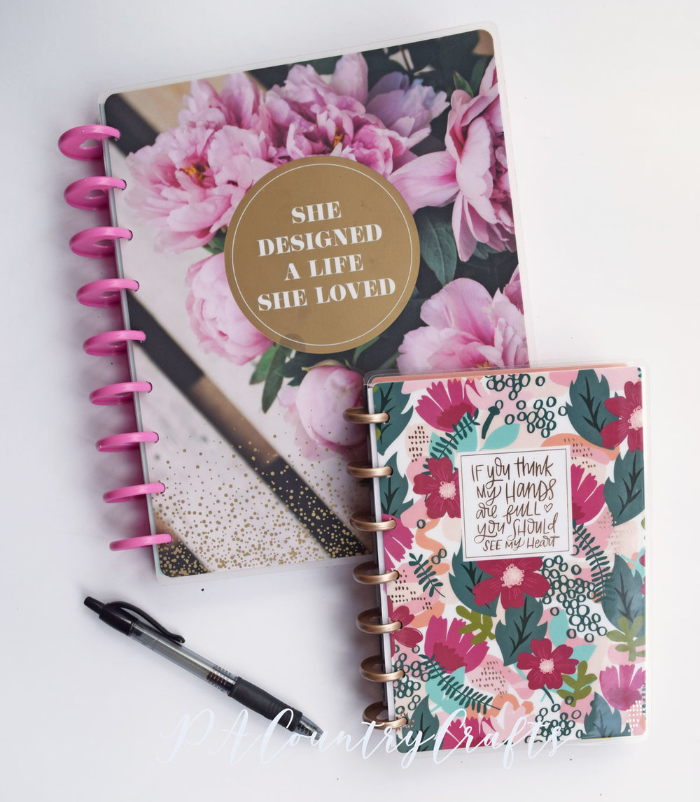 2019 Classic and Mini Happy Planners
