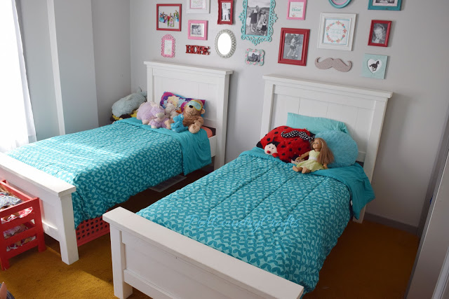Farmhouse Twin Beds