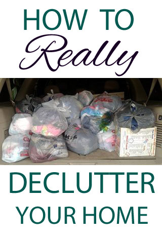 How to Really Declutter