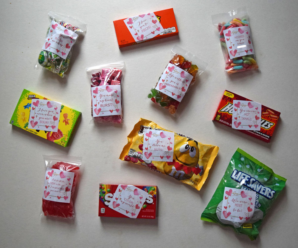 Cute Valentine Candy Sayings