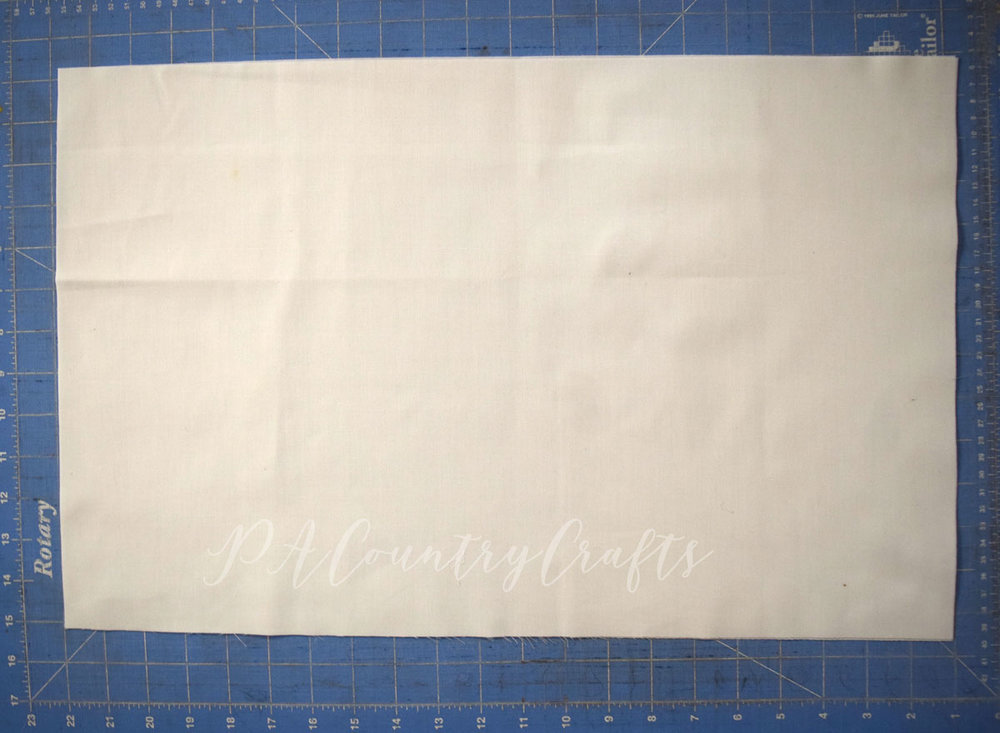 How to make a market basket liner
