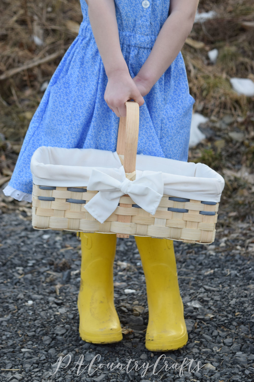 DIY Market Basket Liner