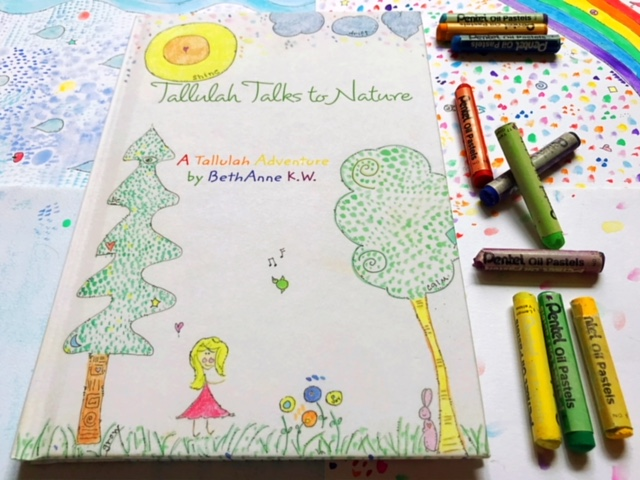 Tallulah Talks to Nature Children's Book by Beth Anne Kapansky Wright