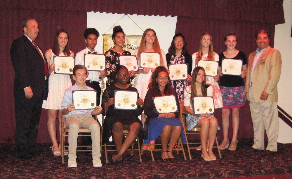 Scholarship Awards 2017 Group