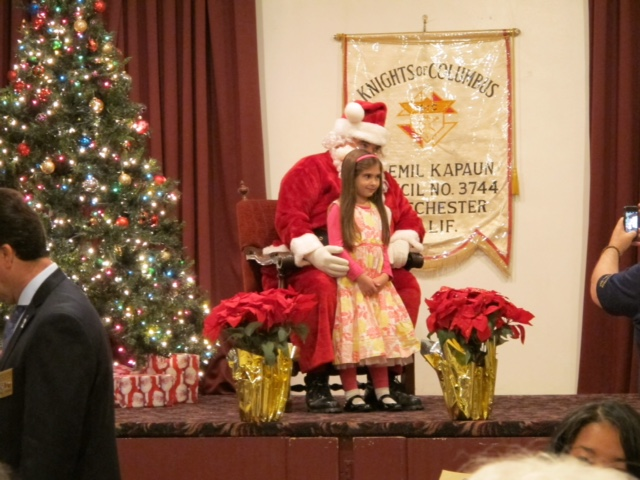Event - Christmas Breakfast 2015 - 01 Santa.JPG