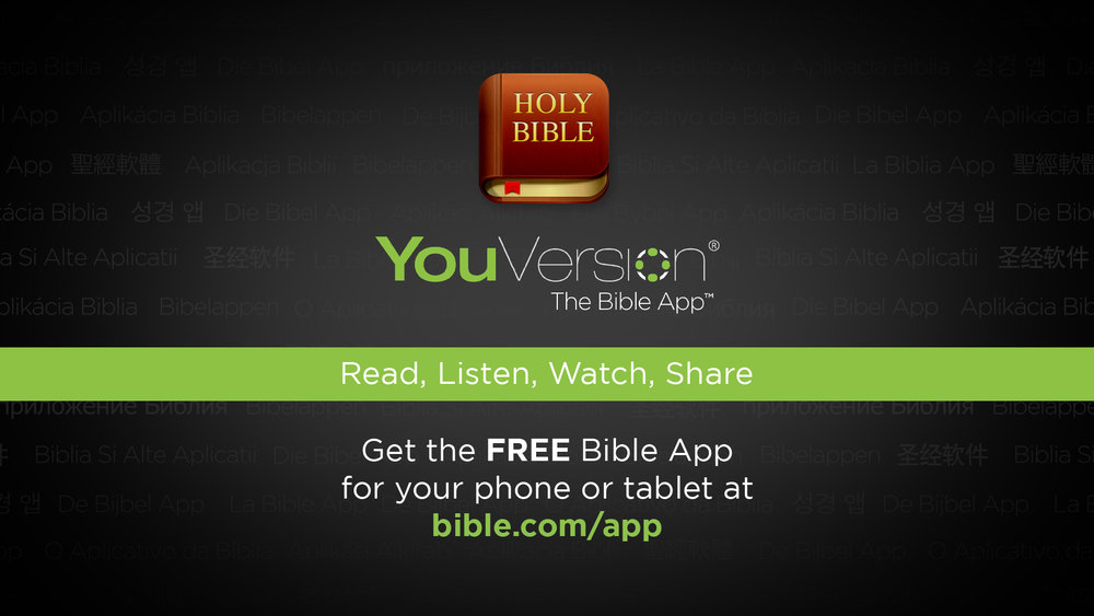 You version:the bible app - {Click image to download free app}
