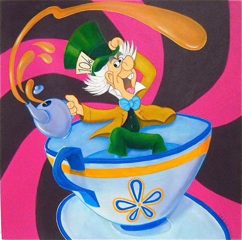 Mad Hatter's Tea Cup