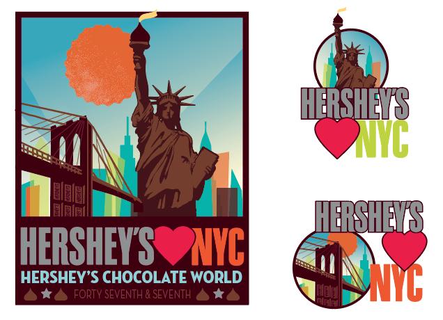Hershey's Loves NYC