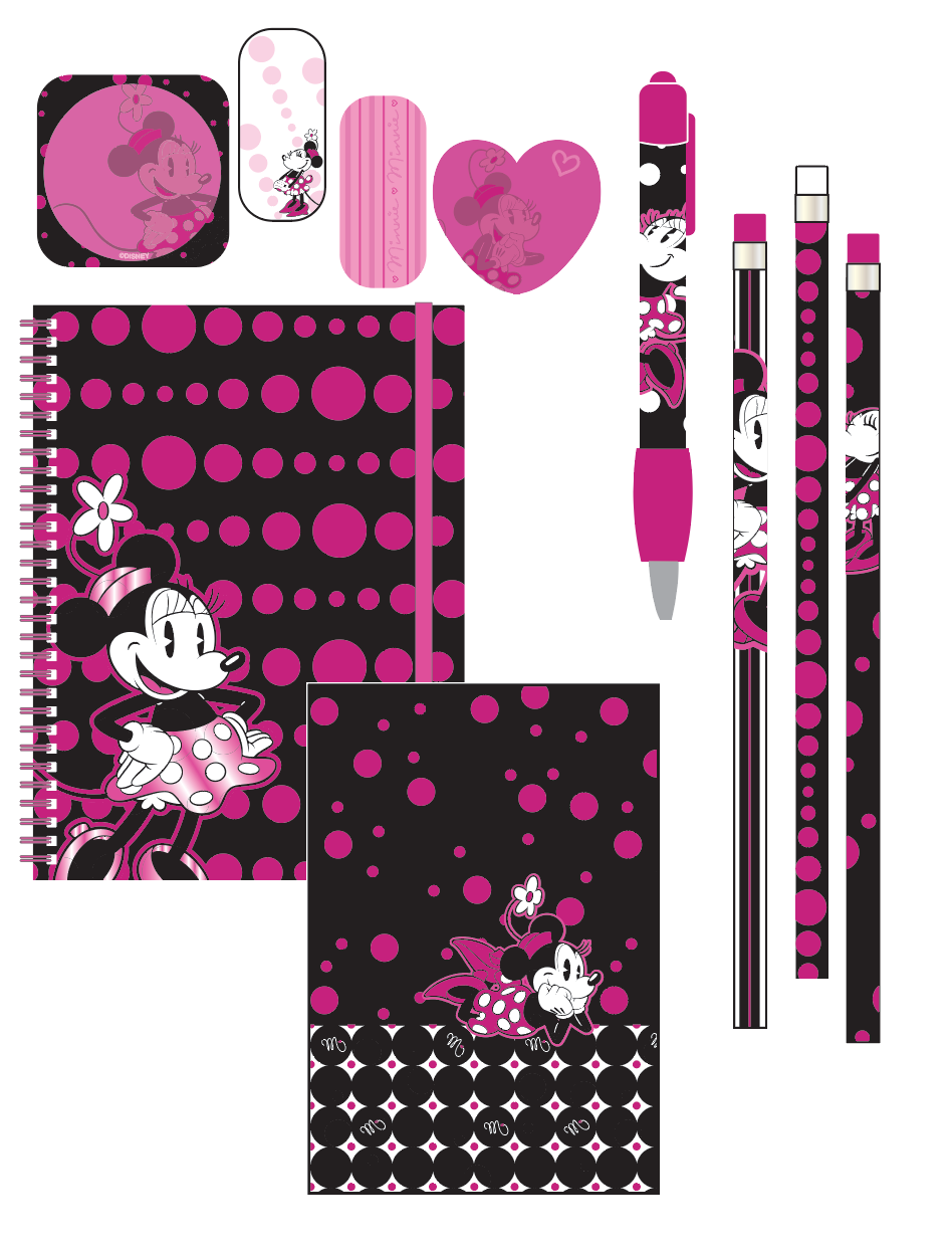 """Minnie Dots"" collection"