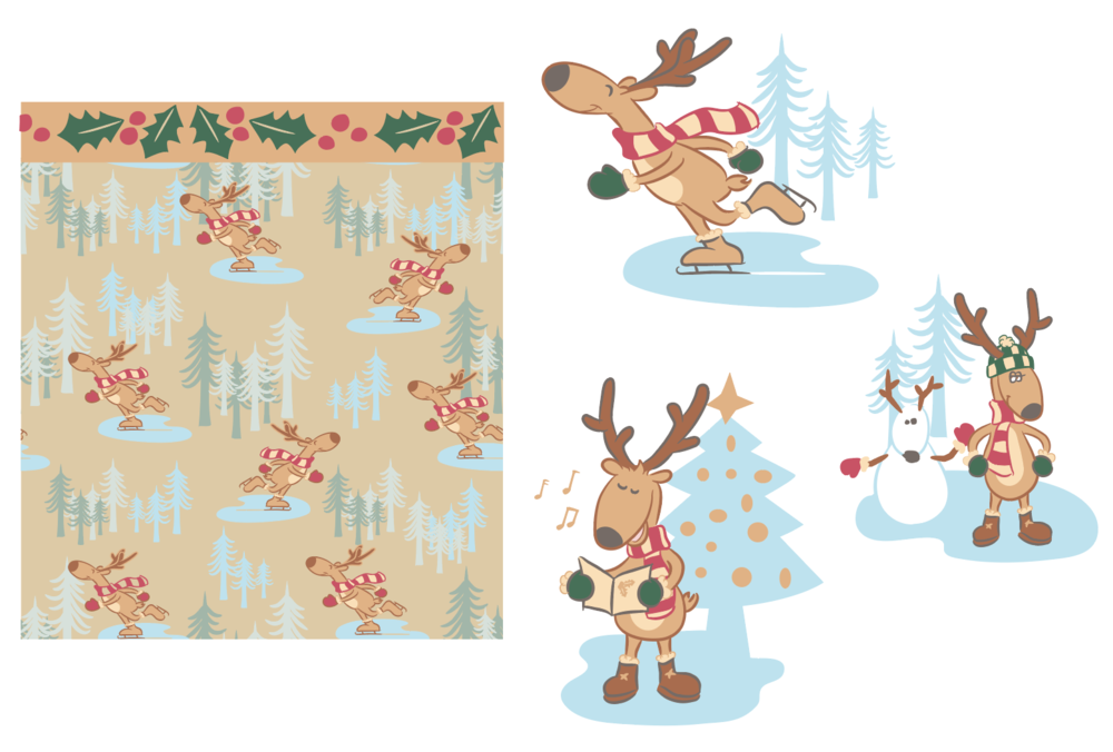 """""""Reindeer Holiday"""" collection"""