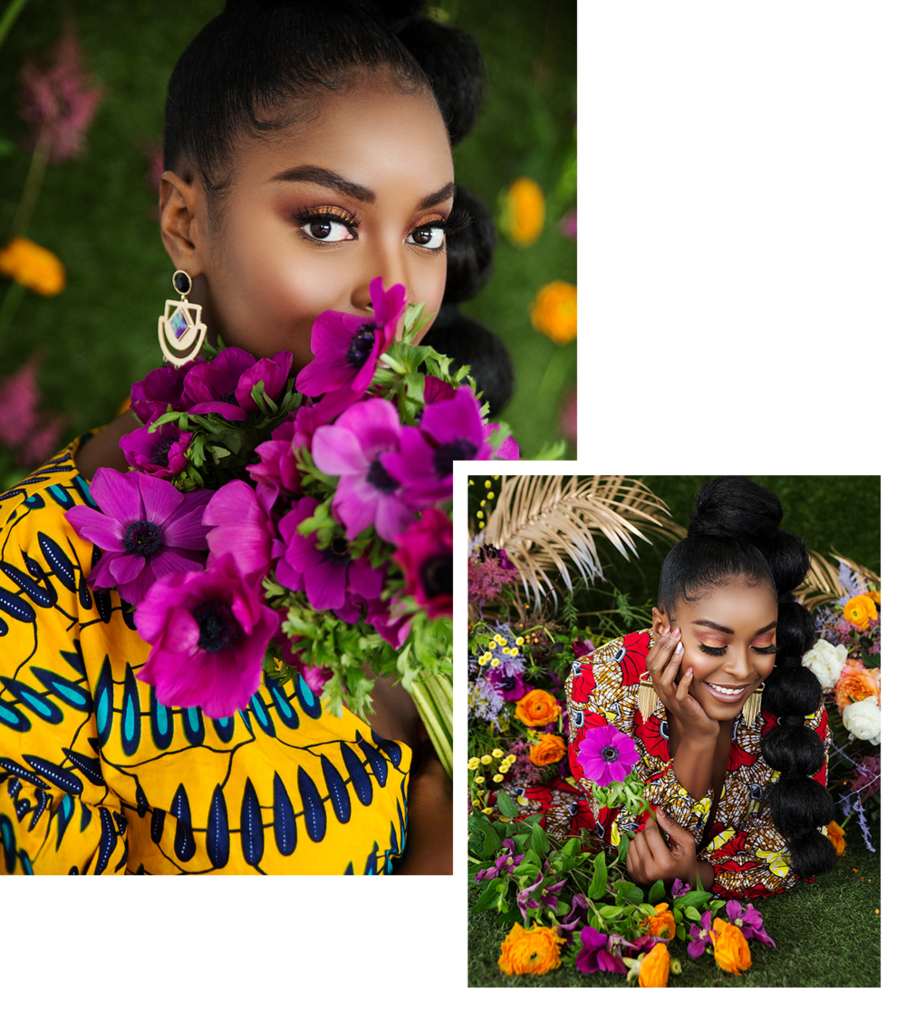 """Fall In Love With Florals. - Since trusting my intuition, I have partnered with notable brands like Coca-Cola, Babies-R-Us, KISS USA, Anastasia Beverly Hills and Budweiser. It wasn't until partnering with Sally Hansen for the """"I Care for Me"""" social campaign that I realized the driving force behind my brand; floral design as an act of self-care & love, celebration, and building community."""