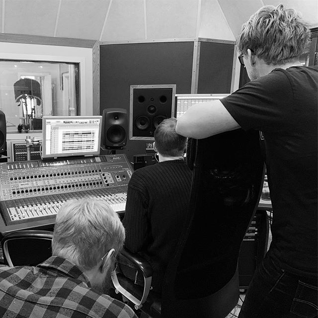 Genomlyssning... #wlr #whitelotusrock #newalbum #studiefrämjandet #studio