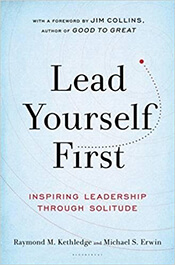 book cover, Lead Yourself First
