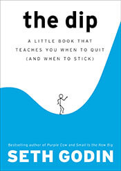 Book cover, The Dip