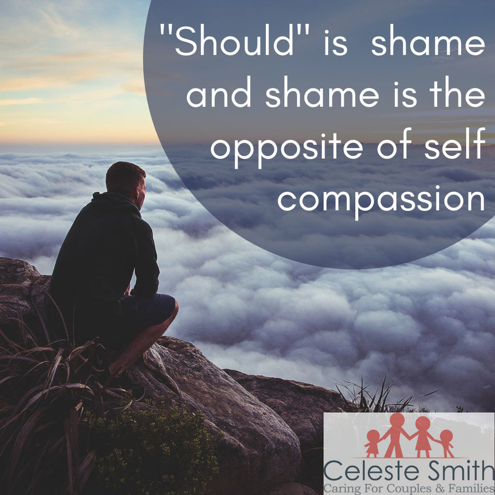 Shame is the opposite of self-compassion