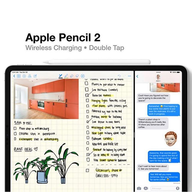 Pencil 2 (Via @spectrumreport) • • • #techiething #tech #science #future #engineering #cool #technology #techiefam #apple #google #popular #iPhone #newiPhone #iPhonexs #iPhoneX #applewatch #airpods #appletv #timcook #stevejobs #health #publichealth #medicine #hospital #doctor #food #new #applepencil #pencil