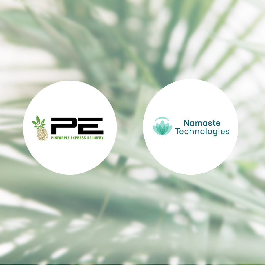 Namaste Announces Binding Agreement to Acquire an Additional 34% Equity in Pineapple Express Delivery for 49% Total Ownership -