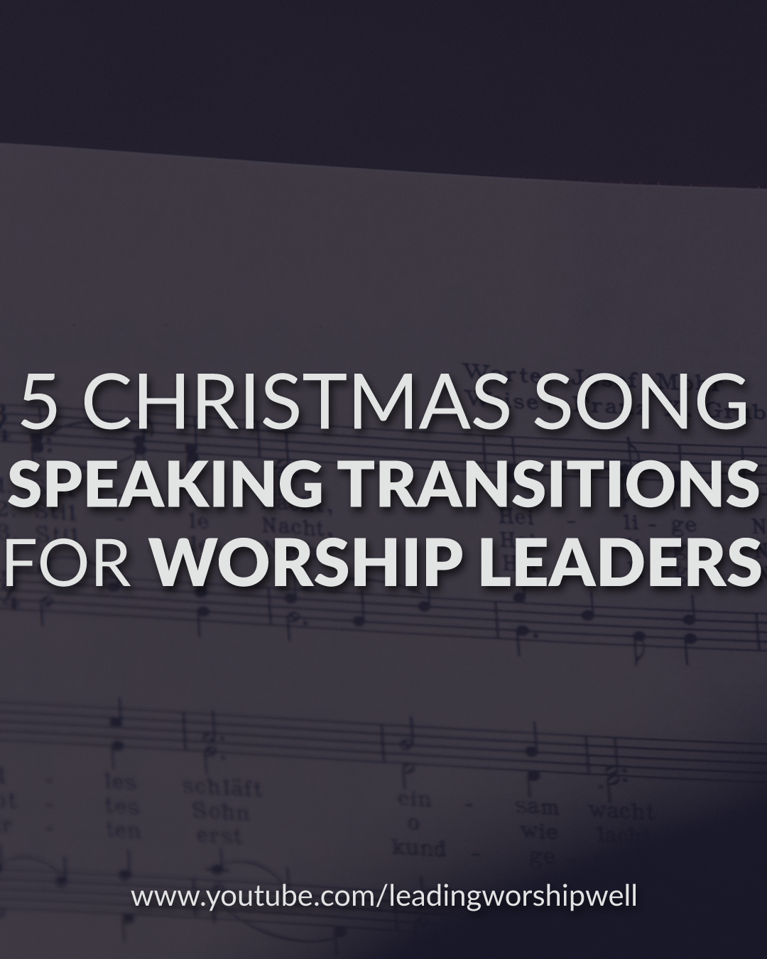 Why Isn'T 99.9 Playing Christmas Music Right Now 2021 What To Say While Leading Christmas Worship 5 Worship Speaking Transitions For Christmas Songs Video Leading Worship Well Worship Leading Tips