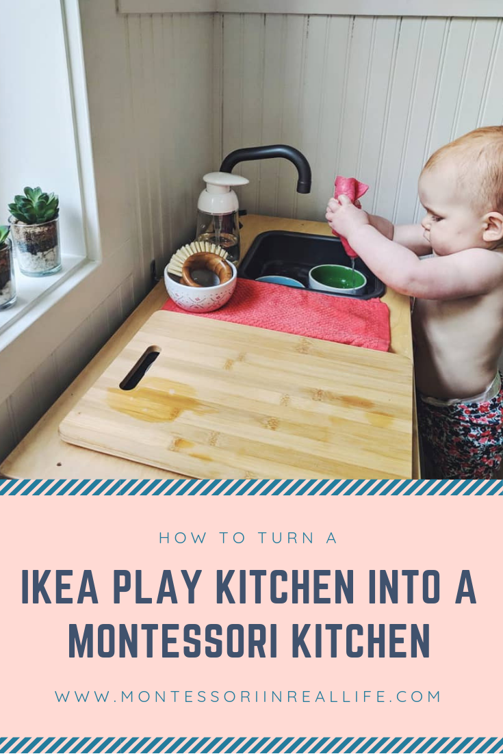 Montessori in the Kitchen @ 15 Months
