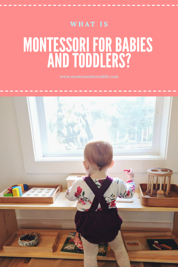 What is Montessori for infants and toddlers?