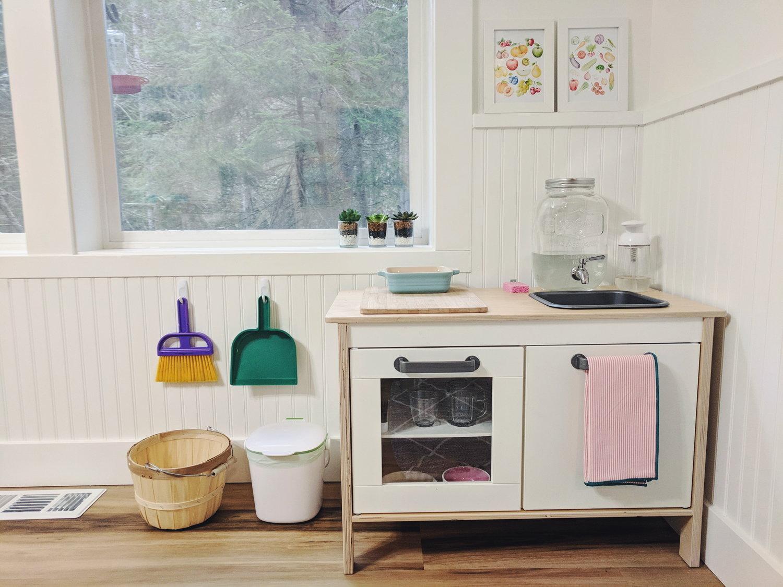 A Functional Montessori Toddler Kitchen — Montessori In Real Life