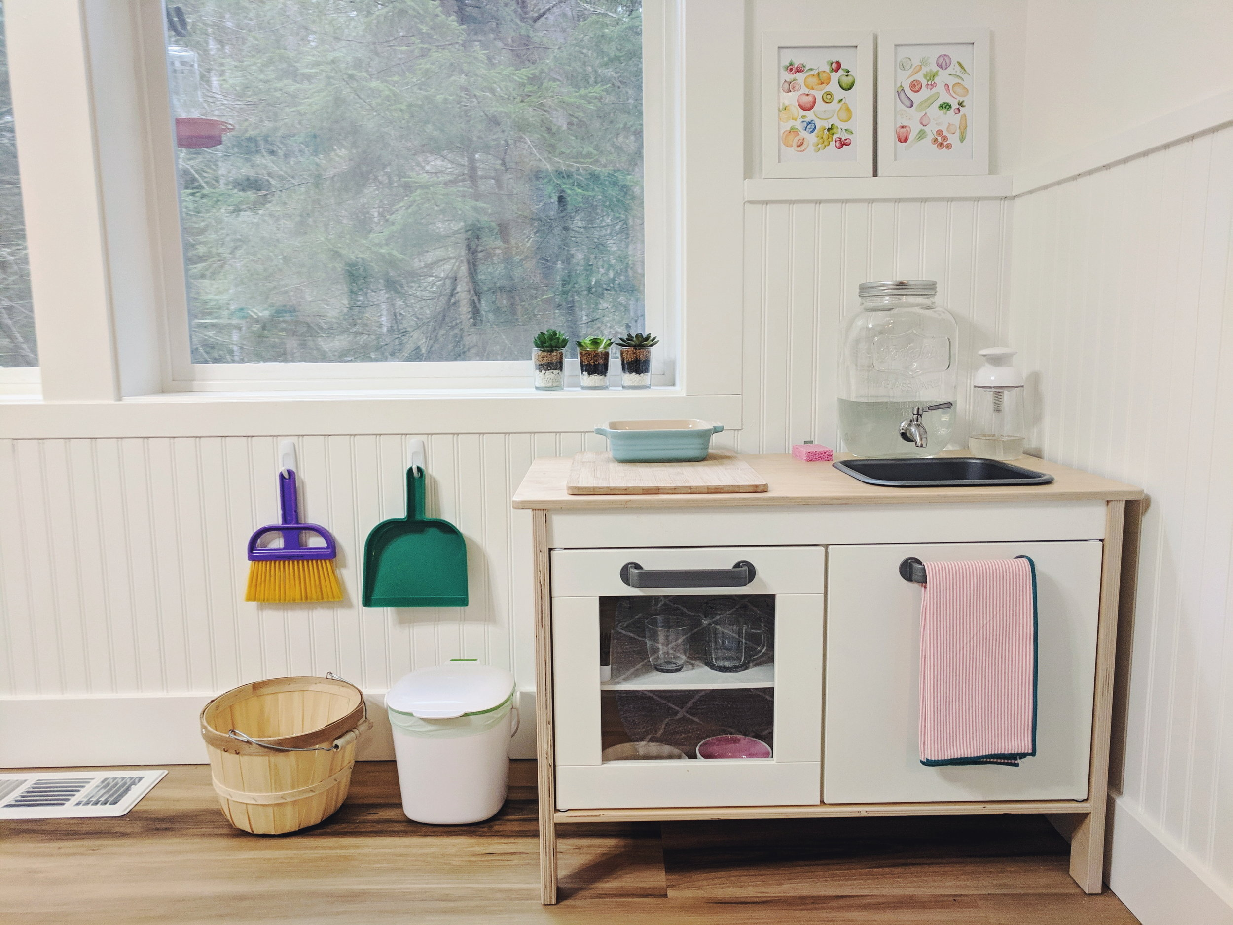A Functional Montessori Toddler Kitchen Montessori In Real Life
