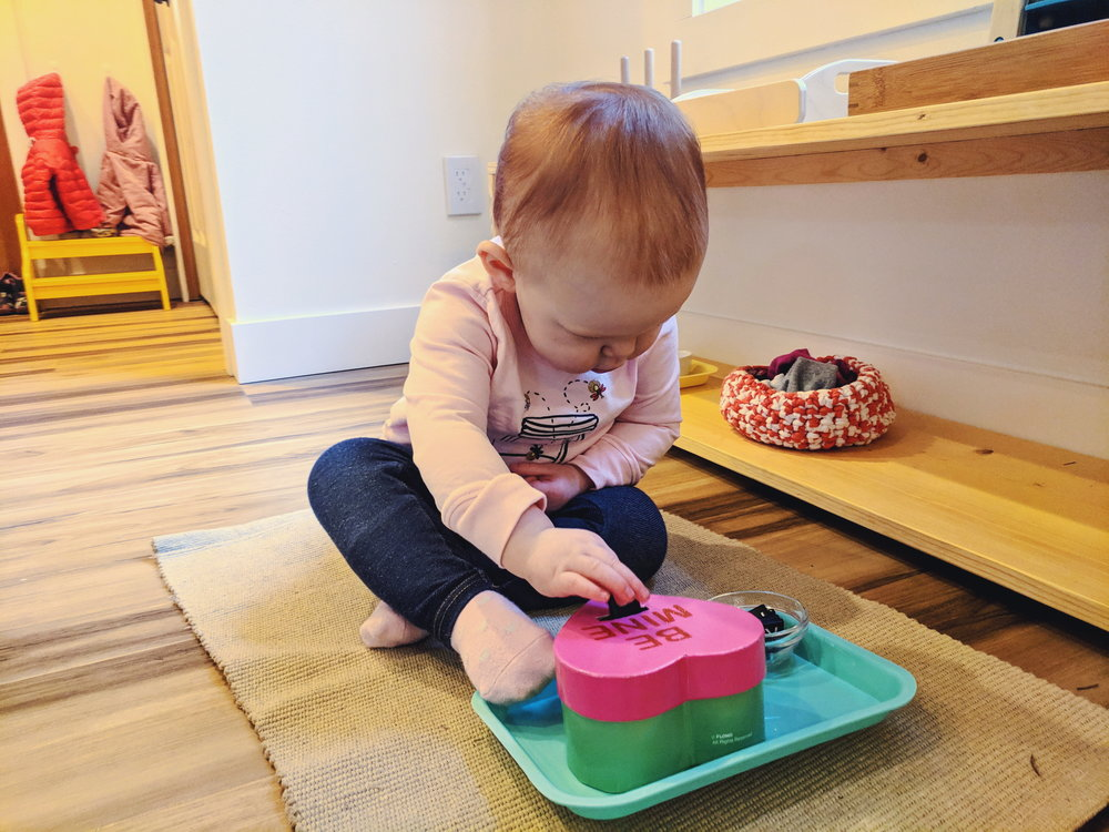 Toddler Valentine's Day - Montessori in Real Life