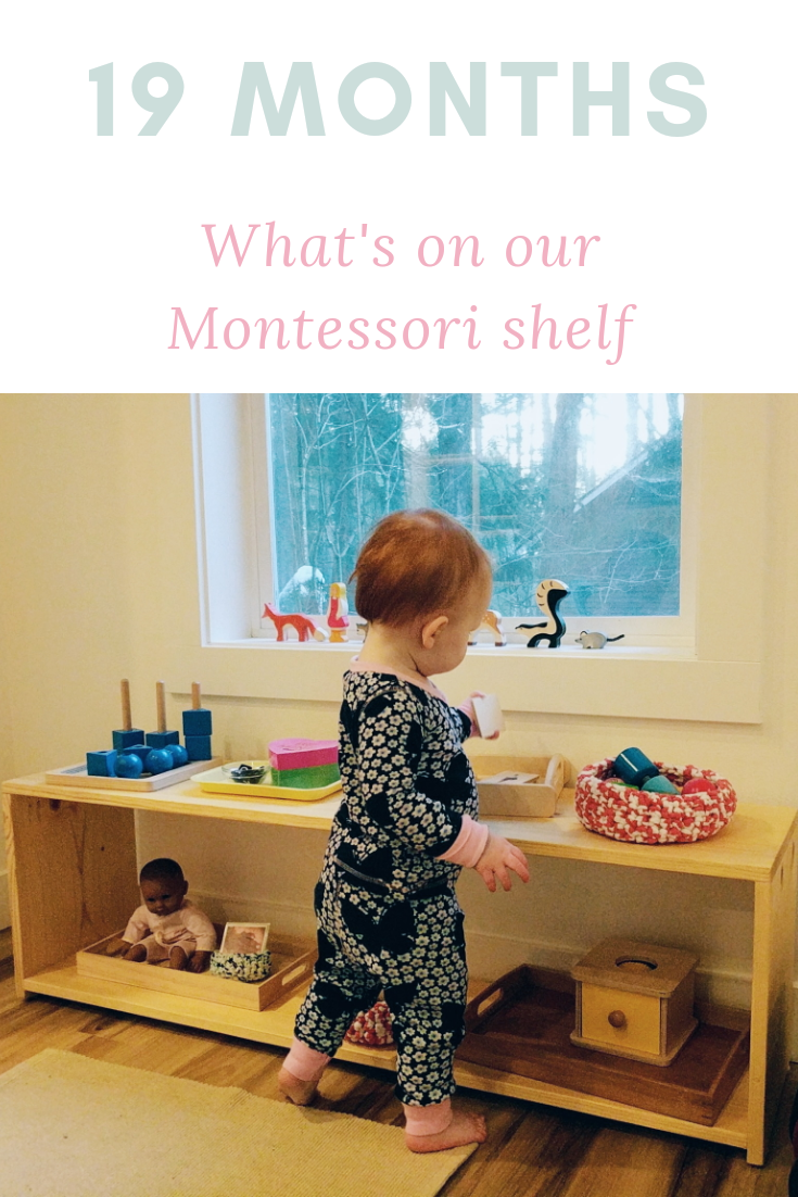 Our Shelf at 19 Months - Montessori in Real Life